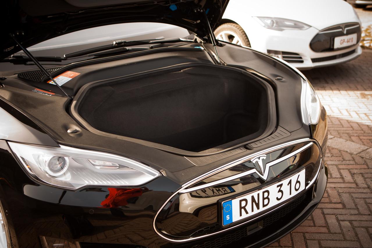 Tesla model s teho